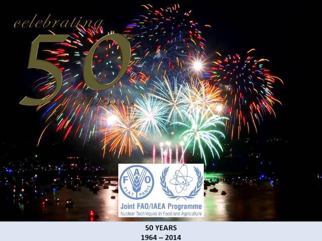 Joint FAO/IAEA Programmes 50 years anniversary